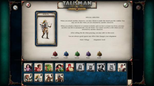 скриншот Talisman - Character Pack #5 - Martyr 1