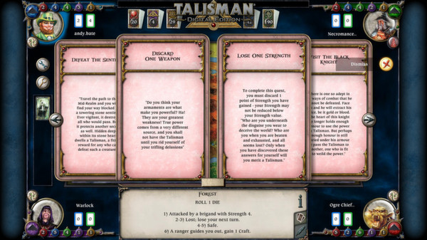 скриншот Talisman - The Frostmarch Expansion 3