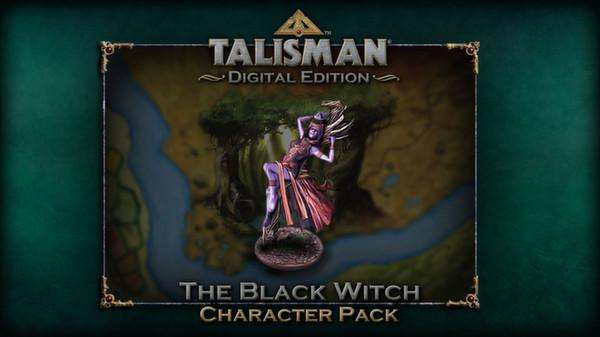 скриншот Talisman - Character Pack #7 - Black Witch 0
