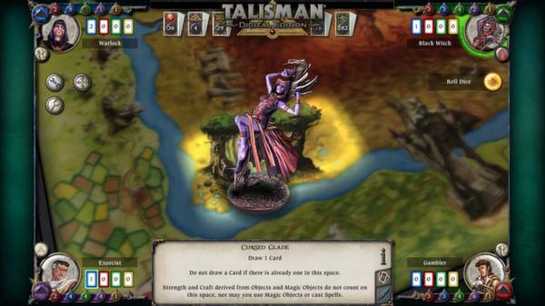 скриншот Talisman - Character Pack #7 - Black Witch 2