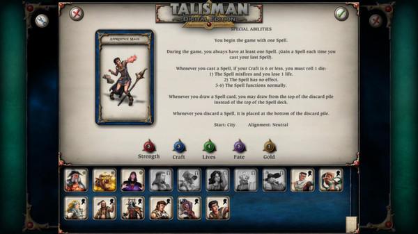 скриншот Talisman - Character Pack #8 - Apprentice Mage 2