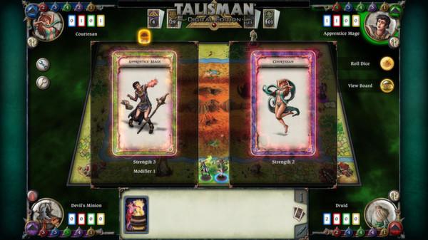 скриншот Talisman - Character Pack #8 - Apprentice Mage 4