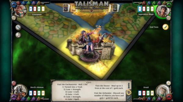 скриншот Talisman - Character Pack #8 - Apprentice Mage 3