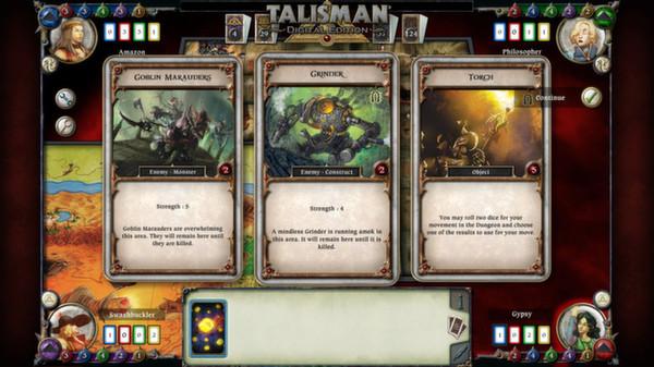 скриншот Talisman - The Dungeon Expansion 4