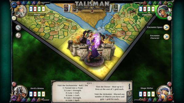 скриншот Talisman - Character Pack #11 - Illusionist 4