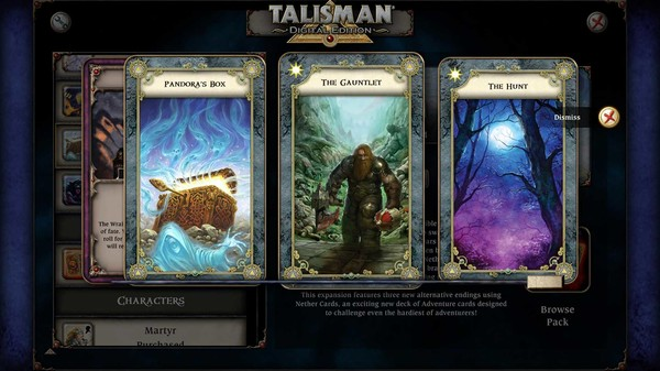 скриншот Talisman - The Nether Realm Expansion 2