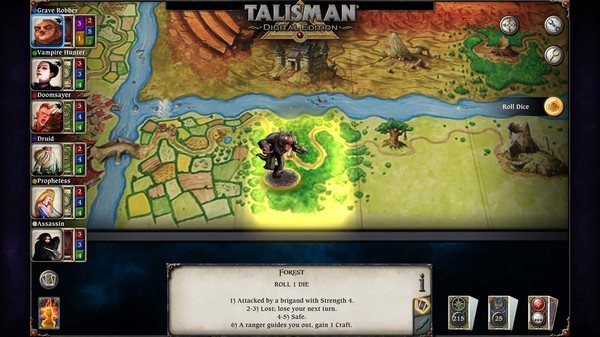 скриншот Talisman - The Blood Moon Expansion 0