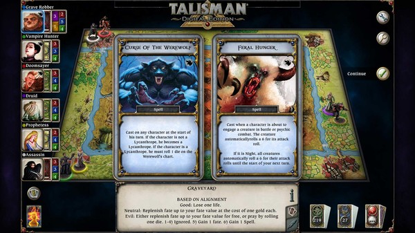 скриншот Talisman - The Blood Moon Expansion 3