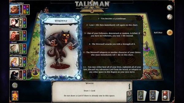 скриншот Talisman - The Blood Moon Expansion 1