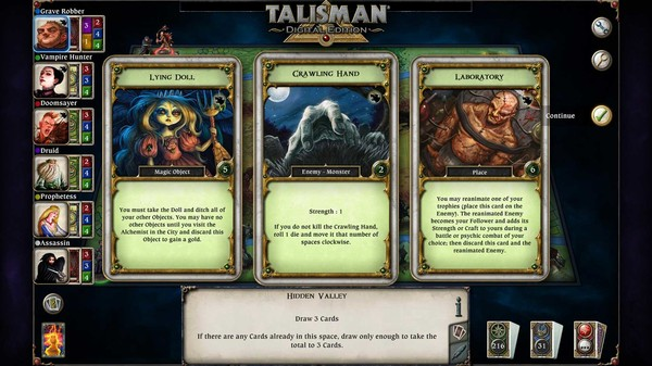 скриншот Talisman - The Blood Moon Expansion 4