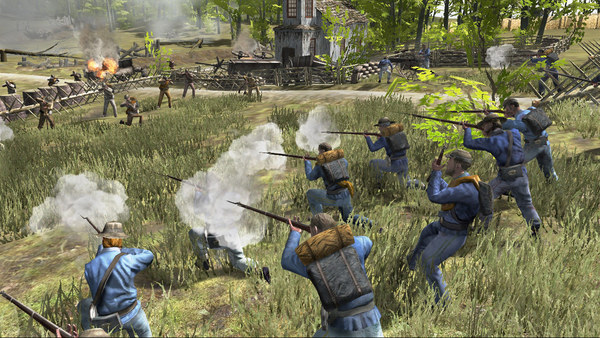 Скриншот из The History Channel®: Civil War