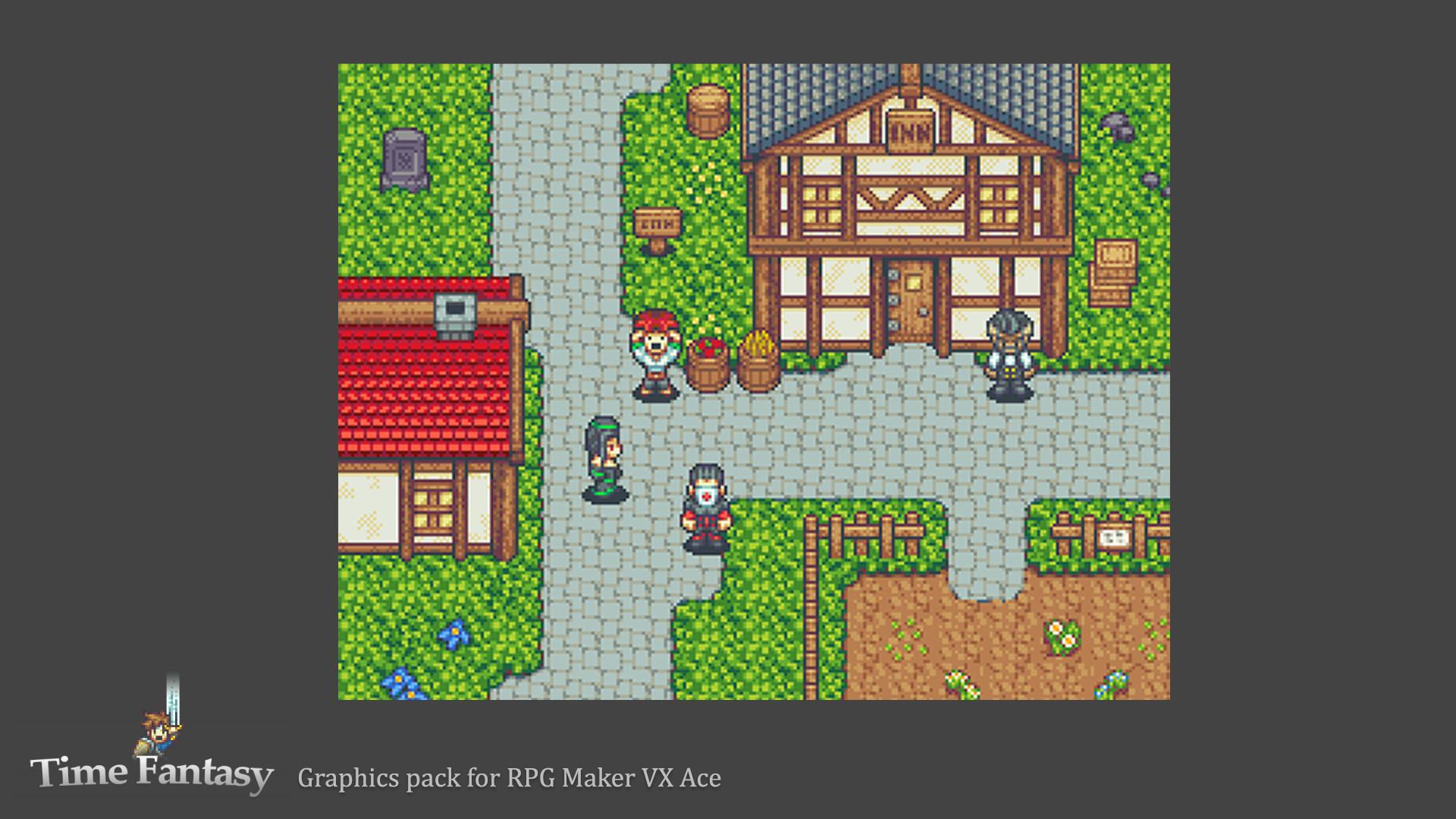 RPG Maker VX Ace - Time Fantasy