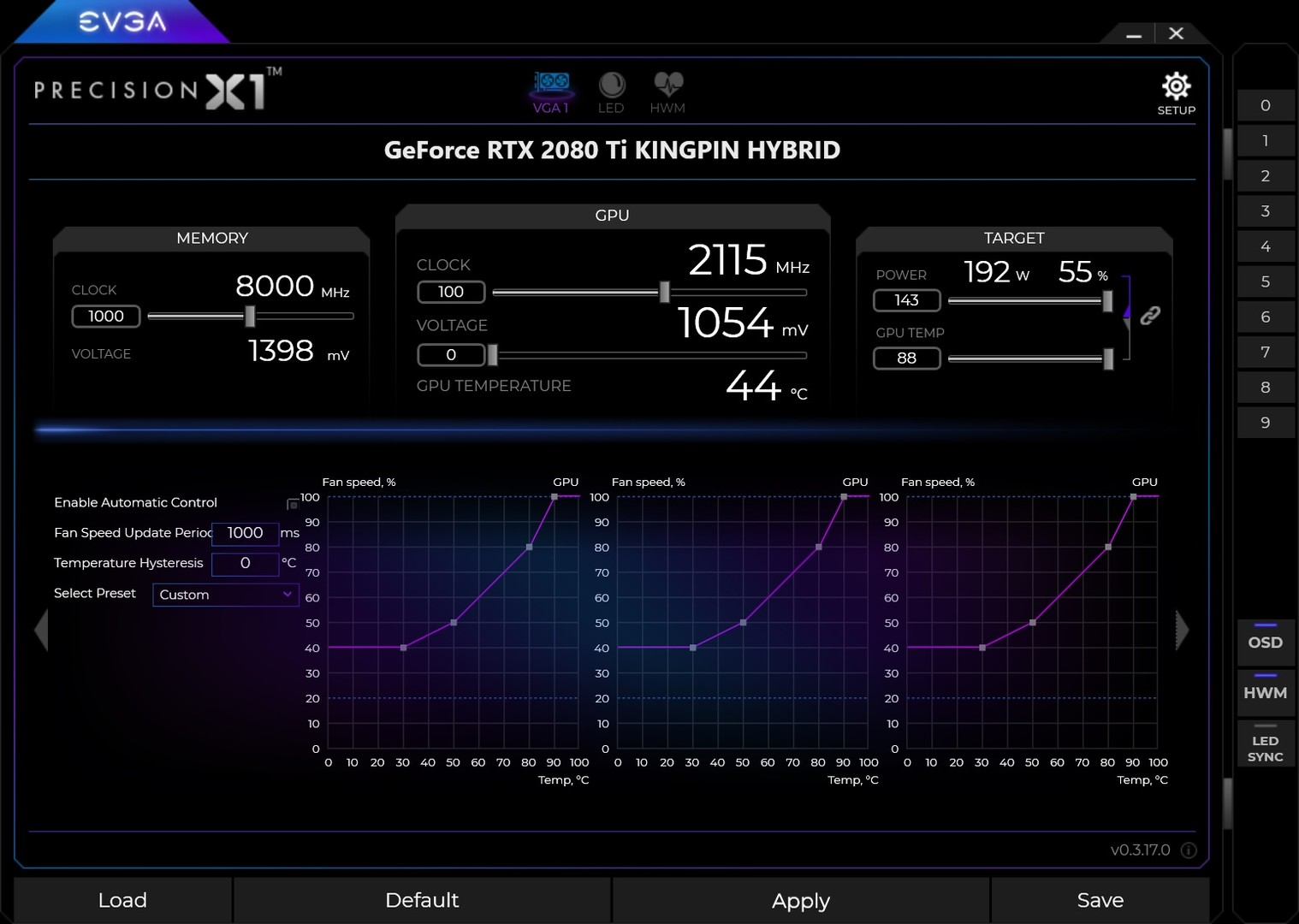 EVGA Precision X1 on Steam