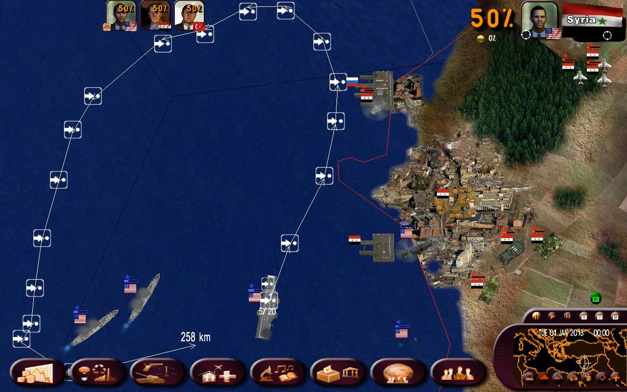 geopolitical simulator 3 francais