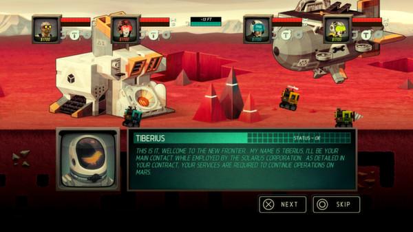 Screenshot of Super Motherload