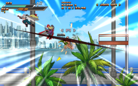 Screenshot of Aces Wild: Manic Brawling Action!