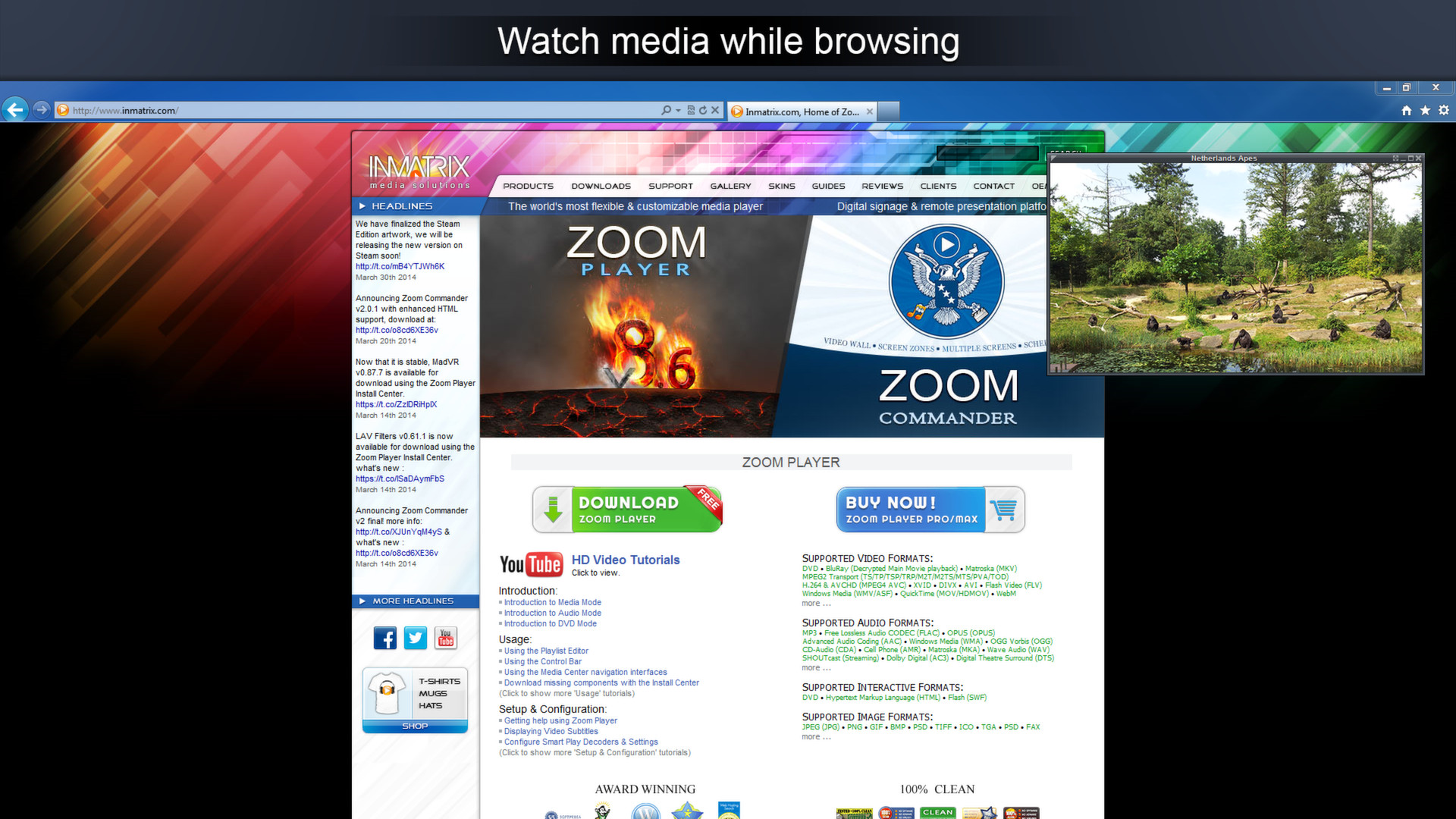 zoom player pro free download