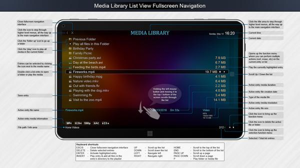 Скриншот из Zoom Player Steam Edition
