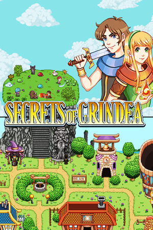 Secrets of Grindea poster image on Steam Backlog