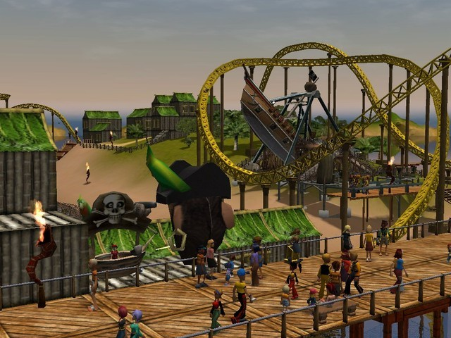 download roller coaster tycoon 3 full version free