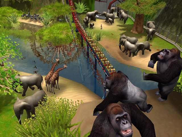 roller coaster tycoon 3 free download full version for pc