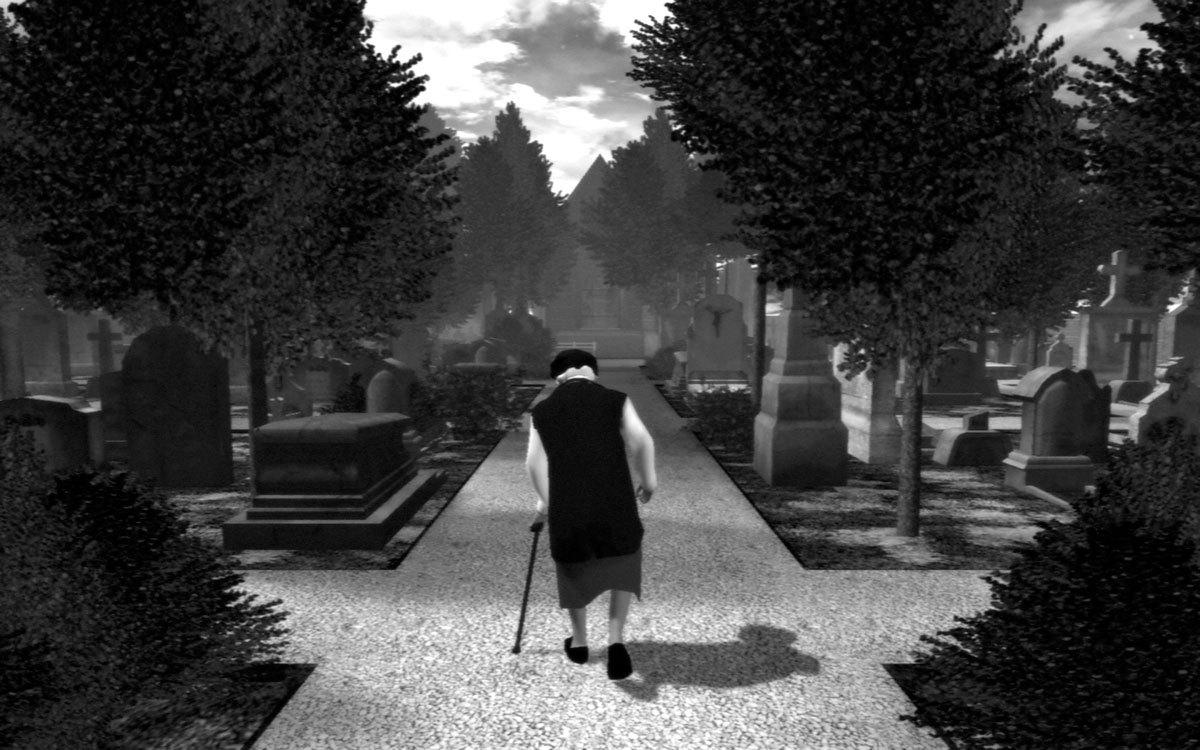 steam で 50 オフ the graveyard
