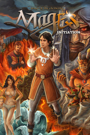 Mage's Initiation: Reign of the Elements poster image on Steam Backlog