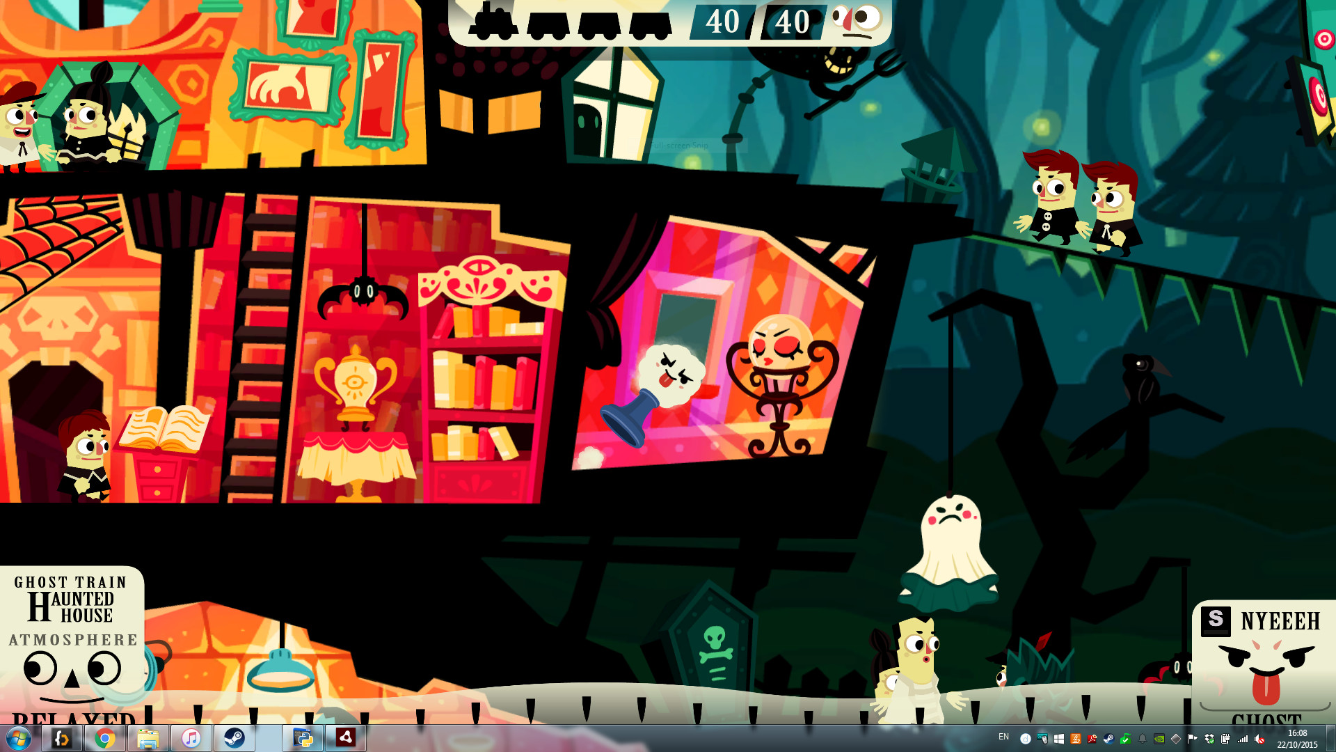 haunt the house 2 game free online