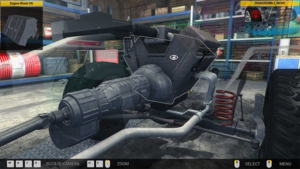 скриншот Car Mechanic Simulator 2014 5
