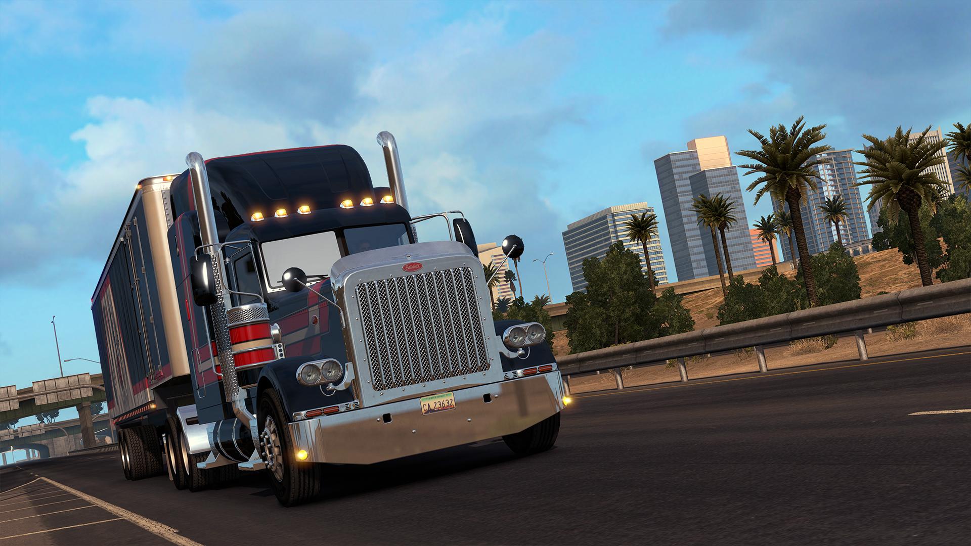Скриншот American Truck Simulator v1.35.1.14s + 21 DLC скачать торрент бесплатно