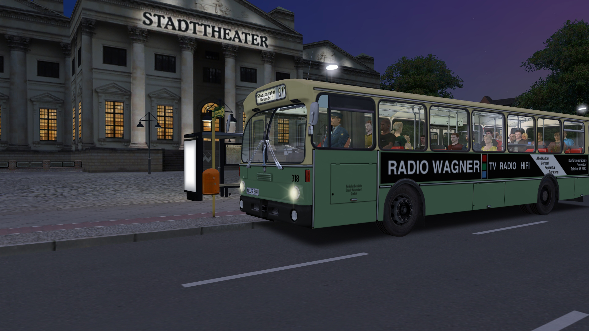 OMSI 2 Add-on City Bus O305 Steam Discovery