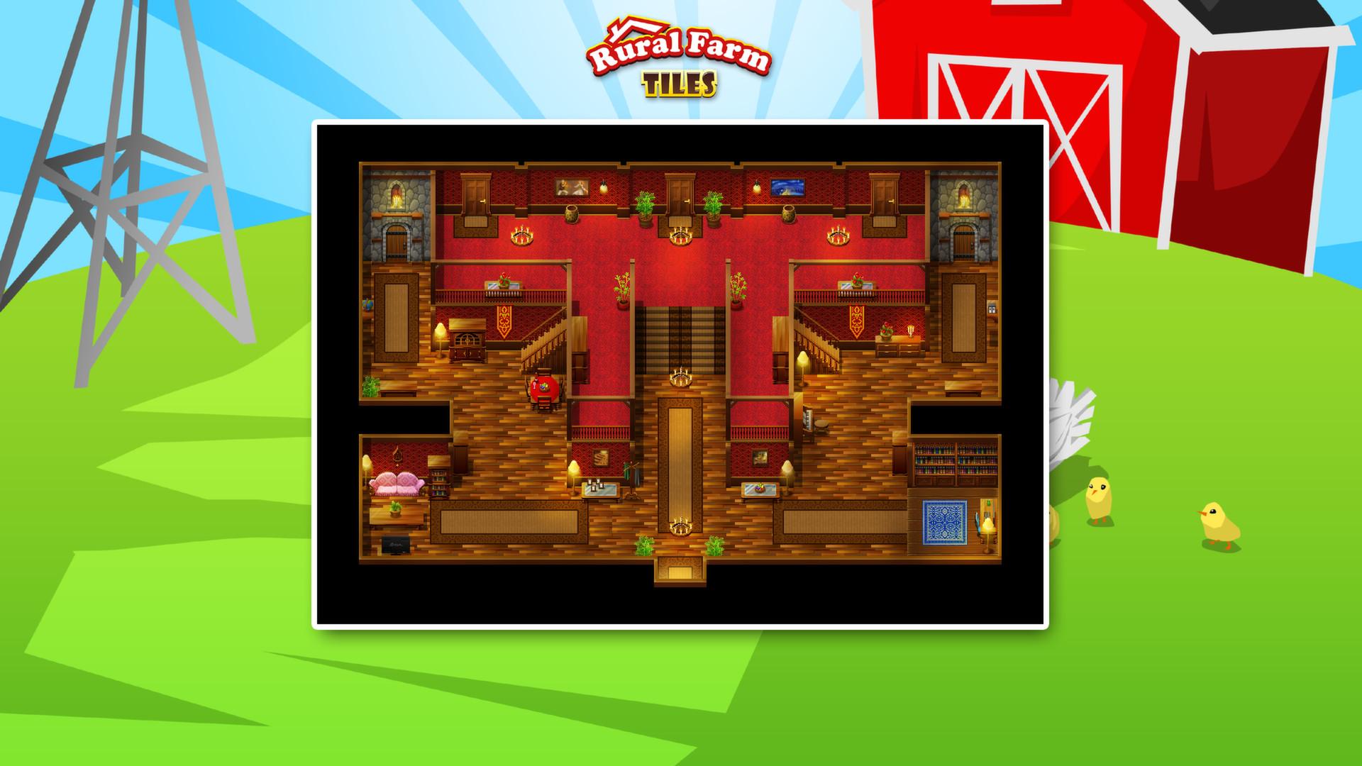 RPG Maker VX Ace - Rural Farm Tiles Resource Pack on Steam