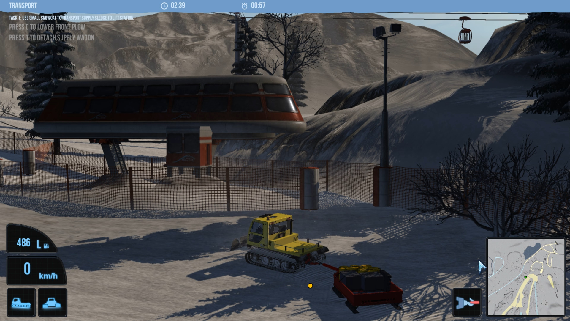 snowcat simulator 2011 demo