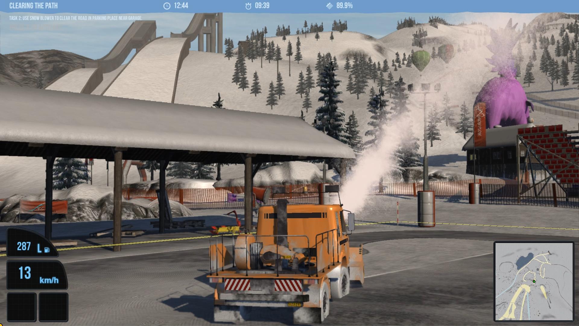snowcat simulator demo