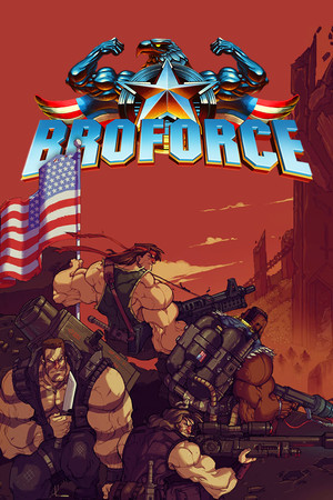 Broforce poster image on Steam Backlog