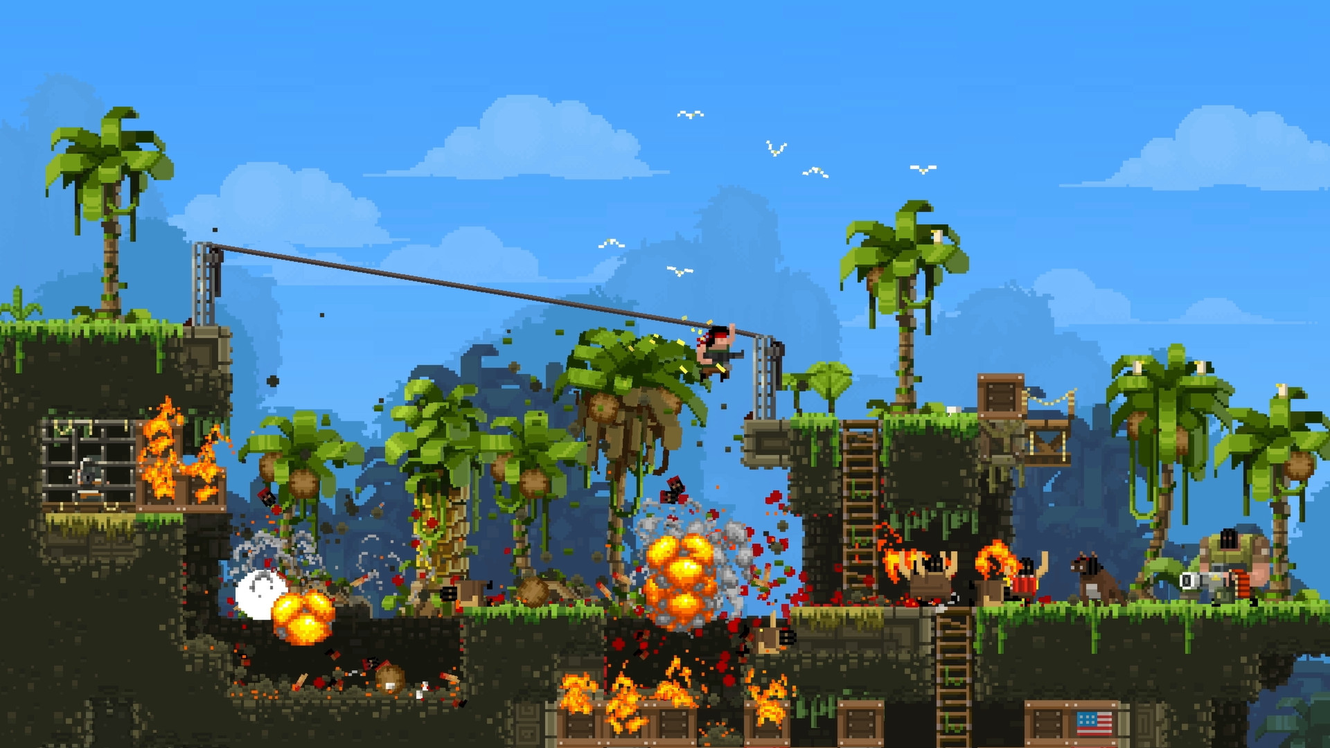 Save 75 On Broforce On Steam