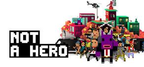NOT A HERO cover art