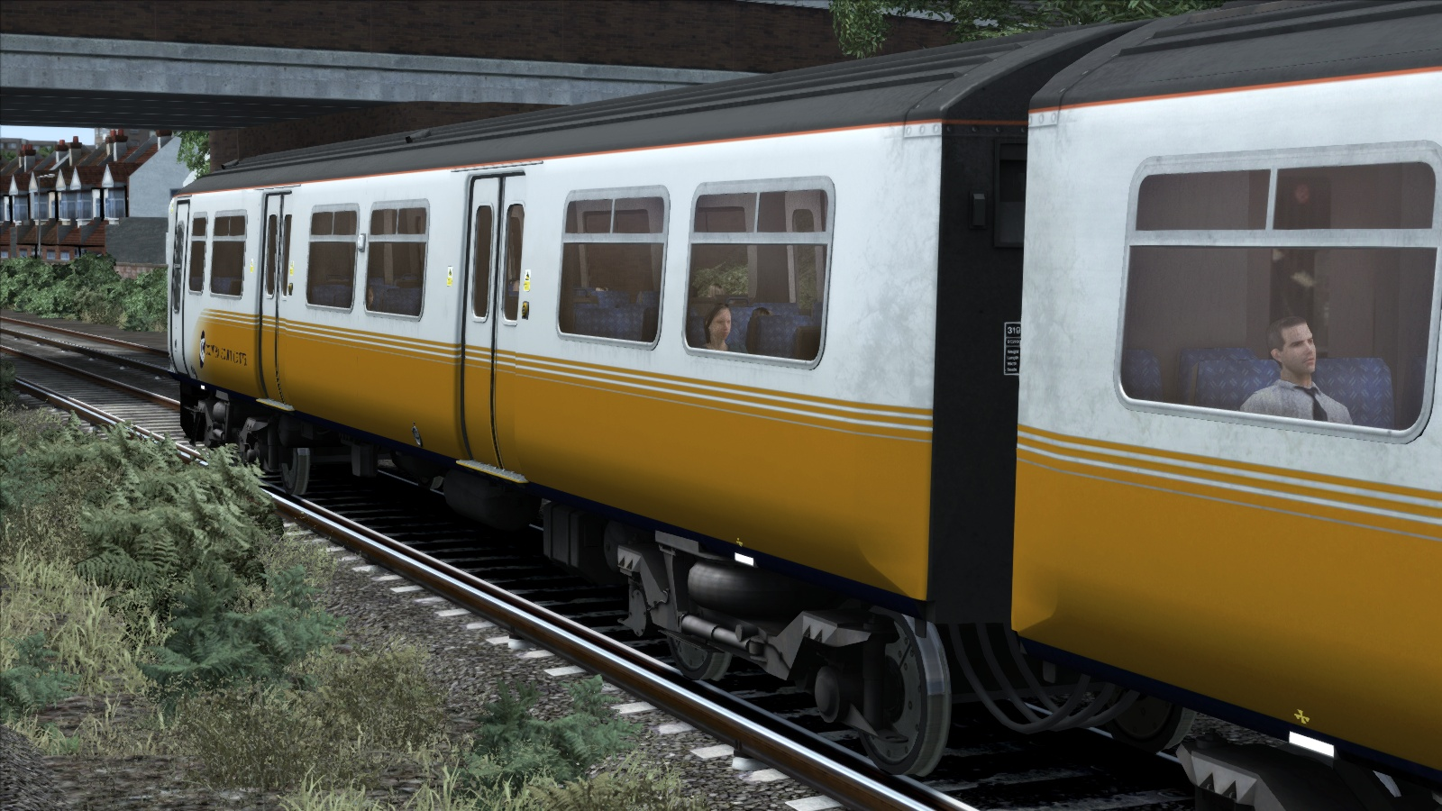 TS Marketplace: Connex South Central Class 319 Livery Add-On 2015 pc game Img-2