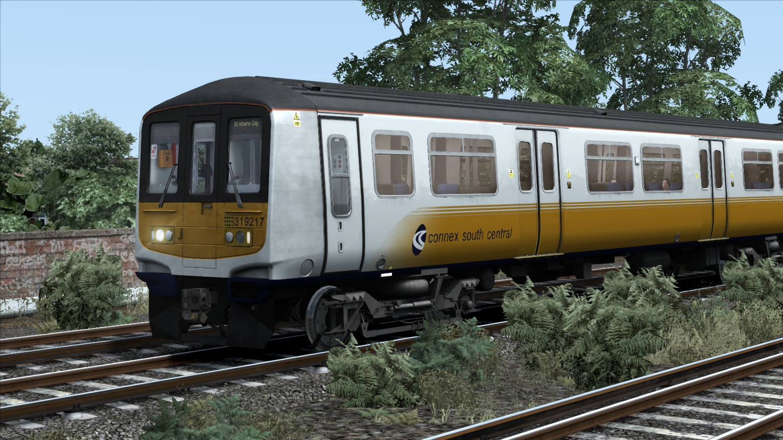 TS Marketplace: Connex South Central Class 319 Livery Add-On 2015 pc game Img-3