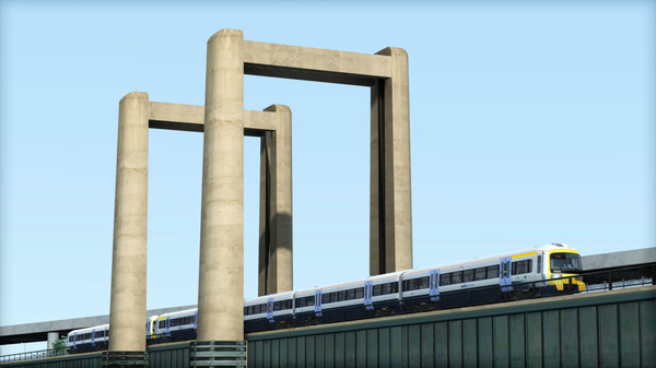 скриншот TS Marketplace: Class 465 Southeastern Livery Pack Add-On 1