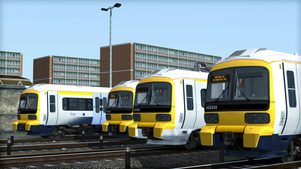 скриншот TS Marketplace: Class 465 Southeastern Livery Pack Add-On 0