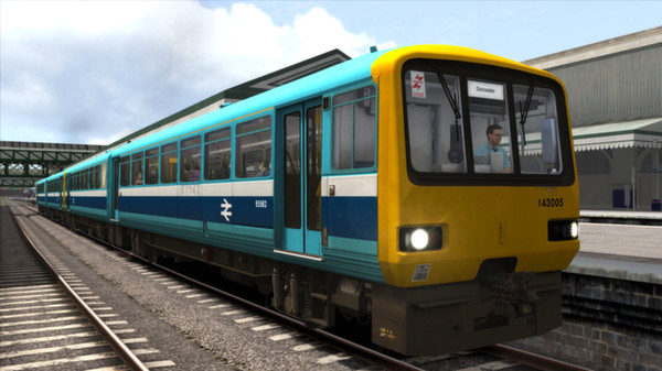 скриншот BR Provincial Sector Class 143 Add-on Livery 5