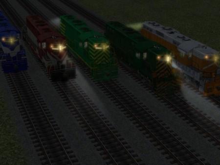 скриншот US Diesel Locomotives - Set 2 2
