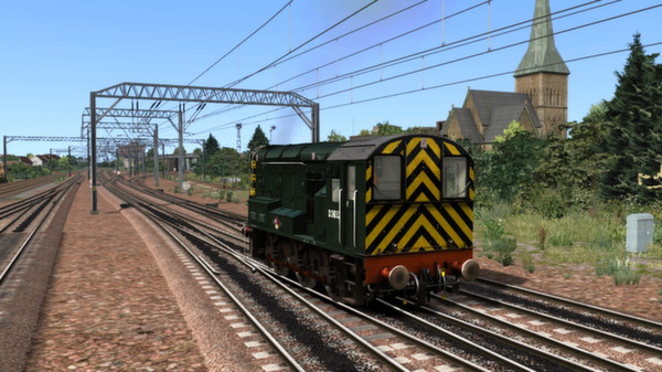 BR Green Class 08 Add-on Livery