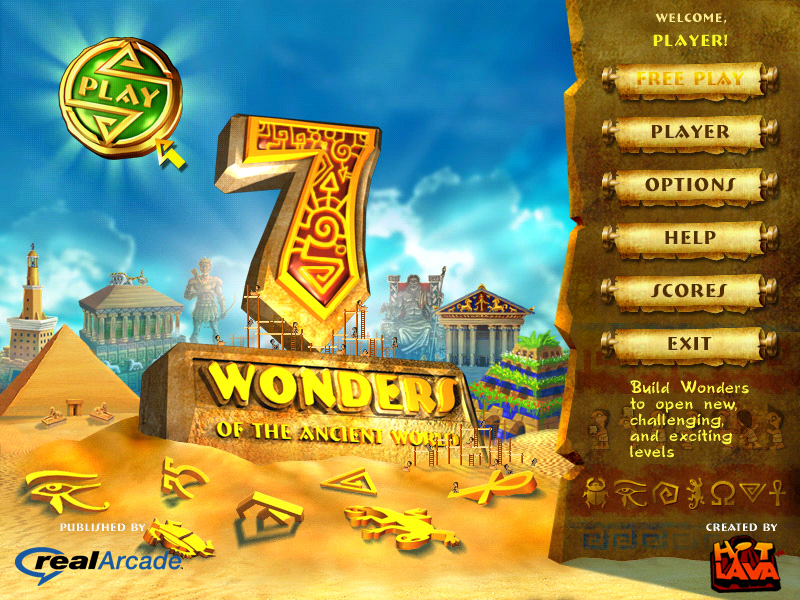 7 Wonders of the Ancient World (Europe+USA) PSP ISO Free ...