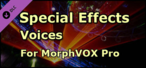 MorphVOX - Special Effects Voices