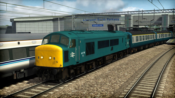 скриншот Train Simulator: BR Class 45 'Peak' Loco Add-On 5