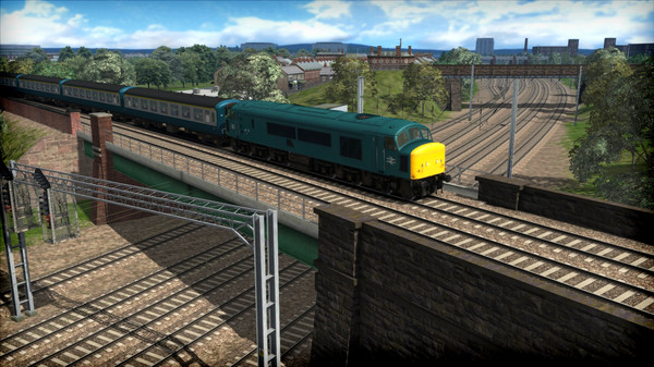 скриншот Train Simulator: BR Class 45 'Peak' Loco Add-On 1