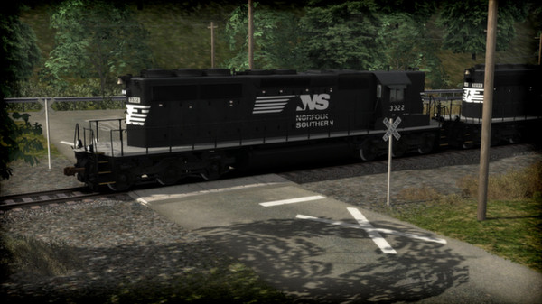 скриншот Norfolk Southern SD40-2 Long Hood Loco Add-On 1