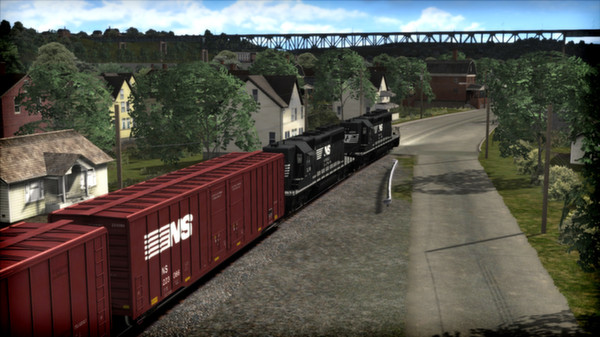 скриншот Norfolk Southern SD40-2 Long Hood Loco Add-On 2